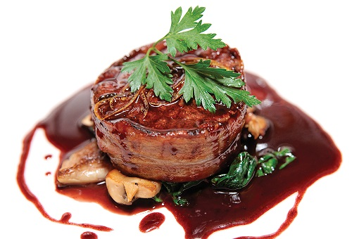 01Steak and red wine jus
